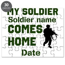Customizable Soldier Homecoming Puzzle