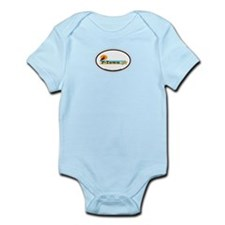 Provincetown MA - Oval Design. Infant Bodysuit