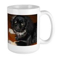 Cute White pekingese Mug