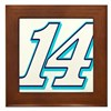TS14blue Framed Tile