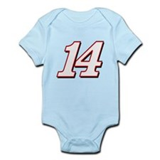 TS14red Infant Bodysuit