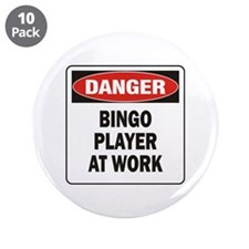 "Bingo 3.5"" Button (10 pack)"