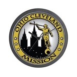 Ohio Cleveland LDS Mission An Wall Clock