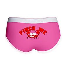 Pinch me crab Women's Boy Brief