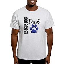 Rescue Dog Dad 2 T-Shirt