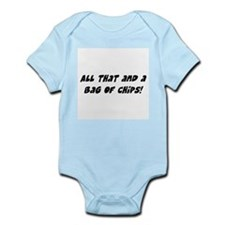 bag of chips Infant Bodysuit