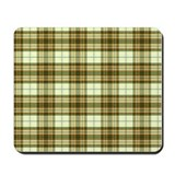 Retro Green Plaid Mousepad