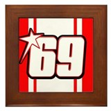 NH69stripe Framed Tile