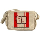 NH69stripe Messenger Bag