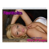 Girls of Vegas 2013 Calendar