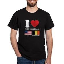 USA-BELGIUM T-Shirt