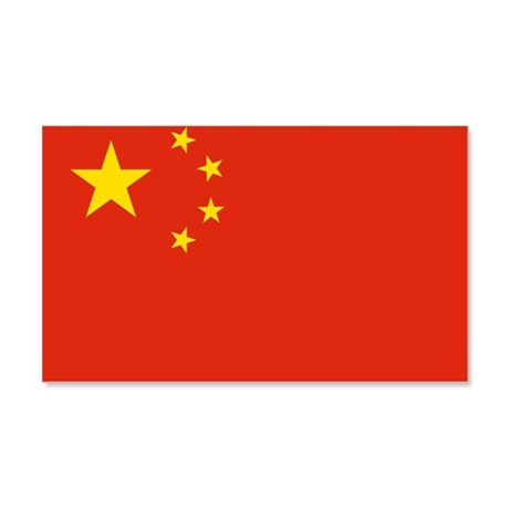 Flag of China 22x14 Wall Peel