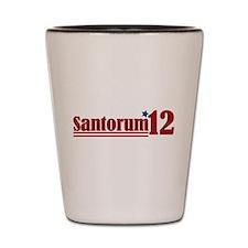 Rick Santorum 2012 Shot Glass