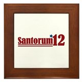 Rick Santorum 2012 Framed Tile