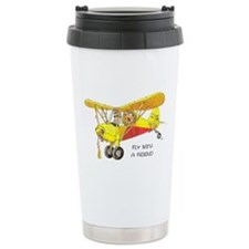 Fly With A Friend Ceramic Travel Mug