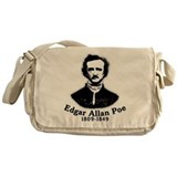Edgar Allan Poe Tribute Messenger Bag