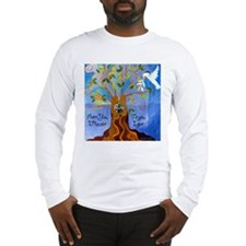 Tree of Life Design Long Sleeve T-Shirt