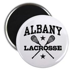 Albany Lacrosse Magnet