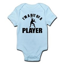 I'm a bit of a player squash Infant Bodysuit