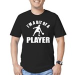 I'm a bit of a player table tennis Men's Fitted T-