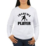 I'm a bit of a player table tennis Women's Long Sl