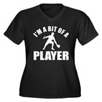 I'm a bit of a player table tennis Women's Plus Si