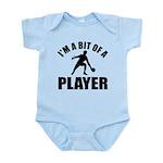 I'm a bit of a player table tennis Infant Bodysuit