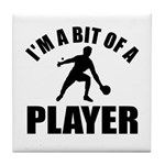 I'm a bit of a player table tennis Tile Coaster