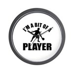 I'm a bit of a player table tennis Wall Clock