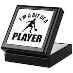 I'm a bit of a player table tennis Keepsake Box