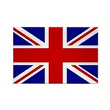 Union Jack British Flag | Rectangle Magnet