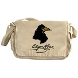 The Raven by Edgar Allan Poe Messenger Bag