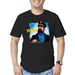 Captain Haddock Men's Fitted T-Shirt (dark)