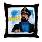 Captain Haddock Throw Pillow