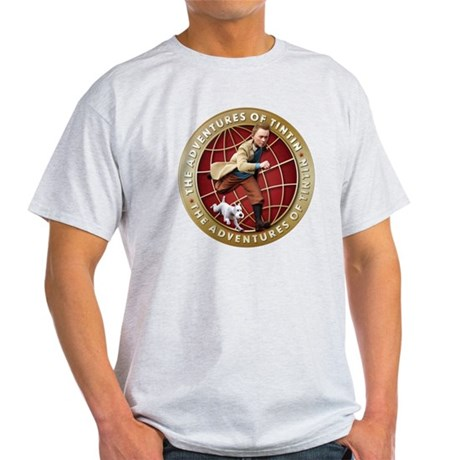 Adventures of Tintin Light T-Shirt