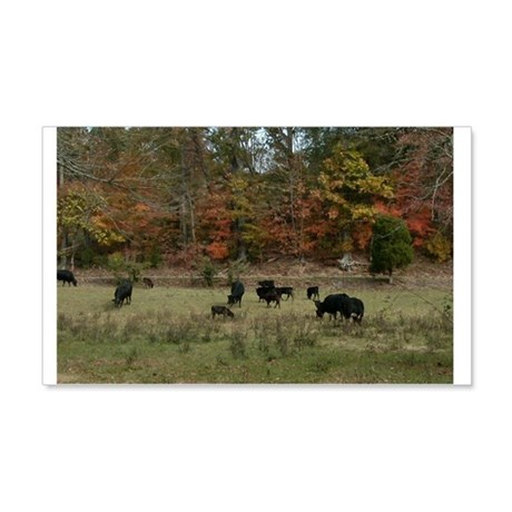 Fall Angus 22x14 Wall Peel