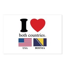 USA-BOSNIA Postcards (Package of 8)
