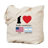 USA-ARGENTINA Tote Bag