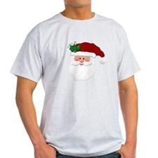 Christmas Santa Claus Face T-Shirt