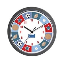 All Stars Sports Wall Clock - Levi