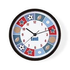 All Stars Sports Wall Clock - Levi