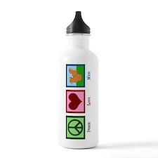 Peace Love Mice Water Bottle