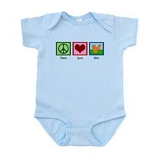 Peace Love Mice Infant Bodysuit