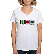 Peace Love Guinea Pigs Shirt