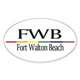 FWB Fort Walton Beach RSS (Oval)