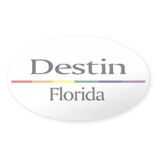 Destin RSS Oval Decal