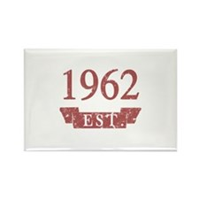 Established 1962 Rectangle Magnet (10 pack)