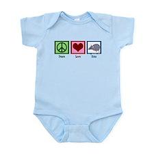 Peace Love Rats Infant Bodysuit