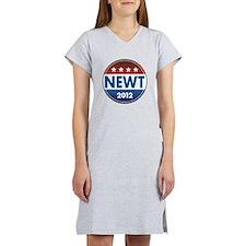 Newt for President 2012 Women's Nightshirt