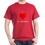 Men's 'I heart Mice Intelligence' T-shirt